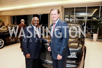 Thomas Moorehead, Eric Shepherd. Photo by Tony Powell. Rolls Royce Sterling Grand Opening. October 15, 2015