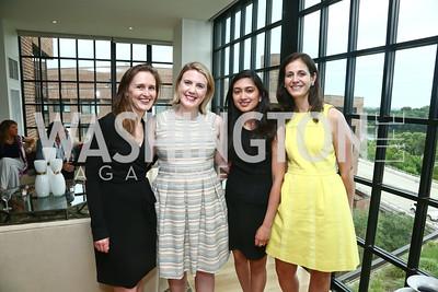 Katharine Thomas, Kendall Reed, Nikita Manilal, Carolyn Nagy. Photo by Tony Powell. TTR Sotheby's Watch and Jewelry Event. June 17, 2015