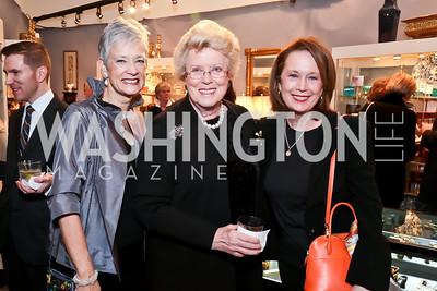 Tony Powell, Kate Markert, Ellen Charles, Carol Joynt. Photo by Tony Powell. 2015 Washington Winter Show. Katzen Center. January 8, 2015