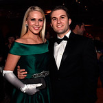 WASHINGTON, DC - JANUARY 19:  Jennifer and Alex Durham of Austin, TX attend the Texas State Society of Washington, D.C. Black Tie and Boots Presidential Inaugural Ball at the Gaylord Nationa ...