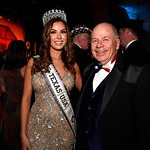 WASHINGTON, DC - JANUARY 19:  Miss Texas USA Nancy Gonzalez and Blair Lee attend the Texas State Society of Washington, D.C. Black Tie and Boots Presidential Inaugural Ball at the Gaylord Na ...